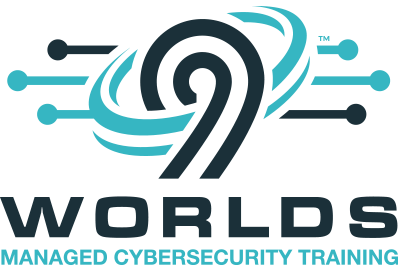 9 Worlds Logo | Managed Cybersecurity Training