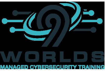9 Worlds Logo | Managed Cybersecurity Training